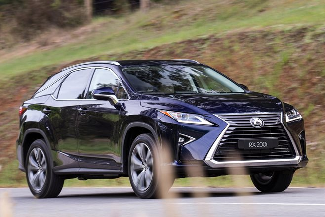 2016 Lexus RX 200t review
