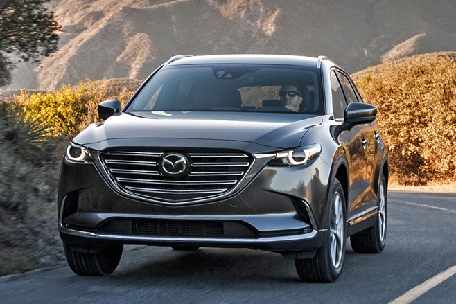 Mazda CX-9 front driving
