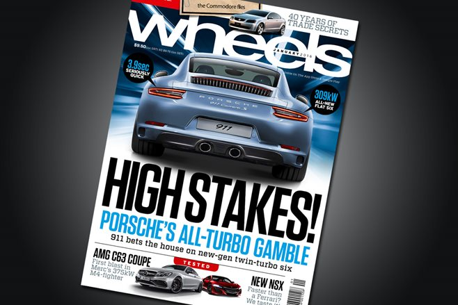 Wheels Magazine January 2016 Issue