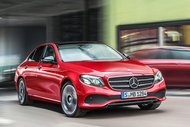 2016 Detroit Motor Show Mercedes-Benz E-Class revealed