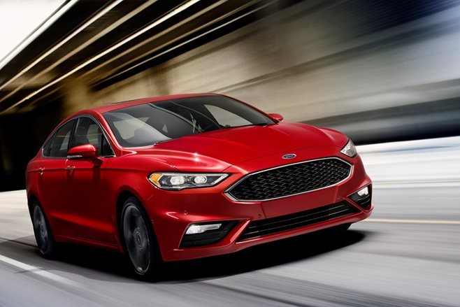 2016 Detroit Motor Show: Ford Mondeo Sport