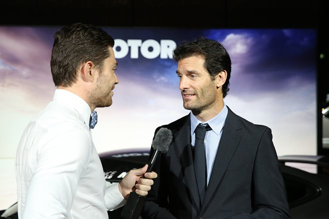 Mark Webber inteviewed by Wheels Senior Journalist Alex Inwood