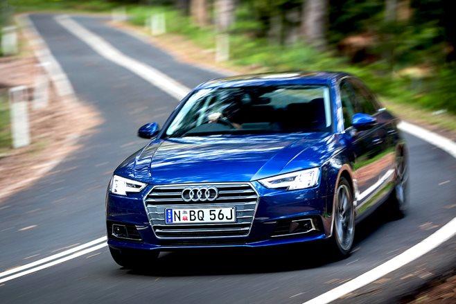 Audi a4 2016 provkörning