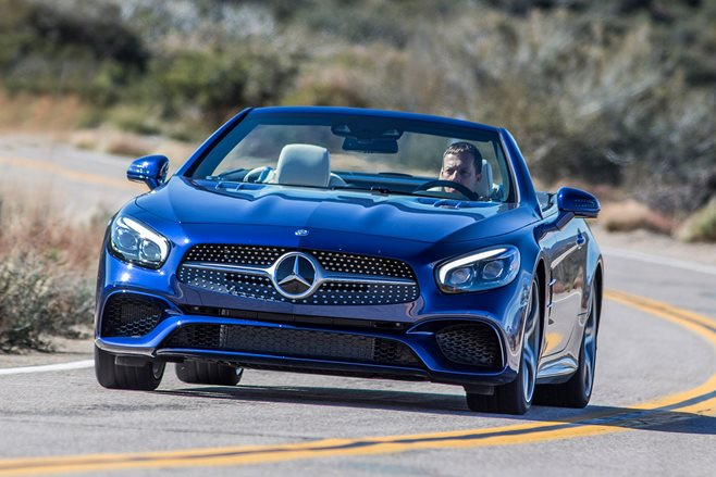 Geneva Motor Show 2016 Mercedes-Benz SL review