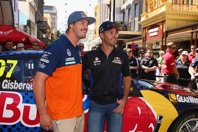 Toby Price looks ahead to V8 Supercars
