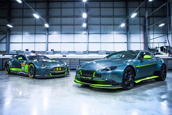 Aston Martin Vantage GT8, V12 S models revealed