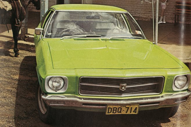 1972 Holden HQ Kingswood