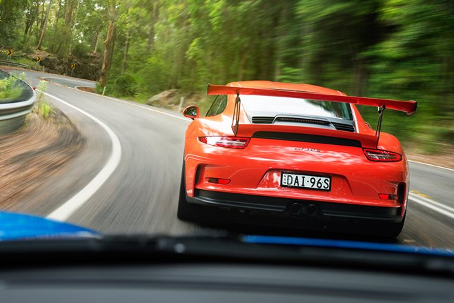 2016 Porsche 911 GT3 RS and 2016 Porsche Cayman GT4