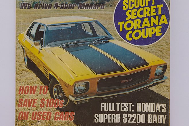 Remembering Bill Tuckey: Holden Monaro drives around Australia