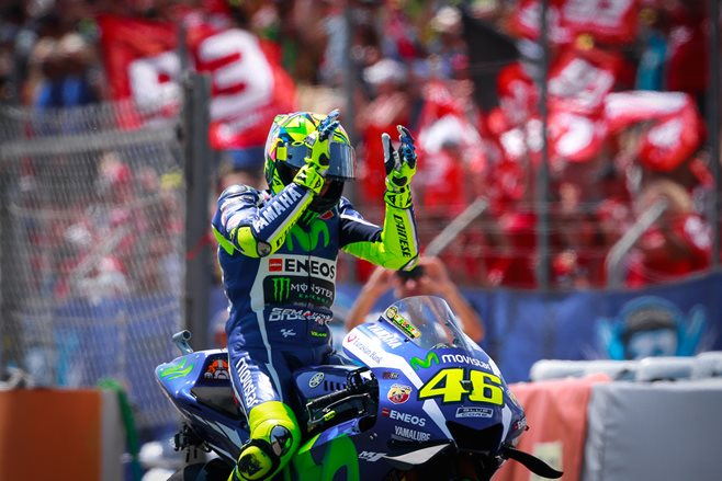 Rossi snares MotoGP win in Barcelona thriller