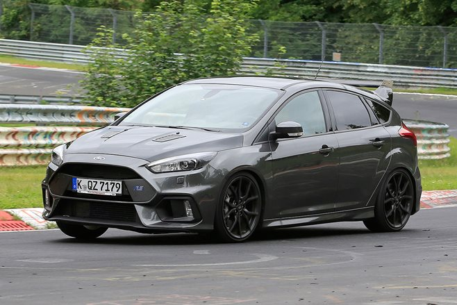 Spied! Ford Focus RS500 spotted venting at Nürburgring