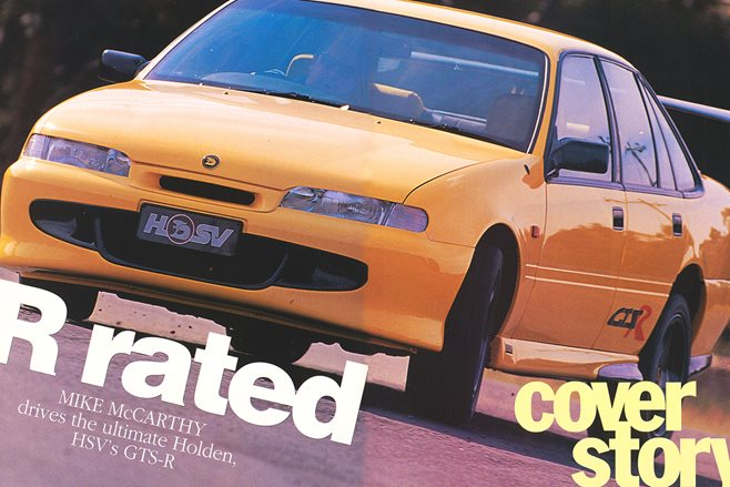 R-Rated; Holden's HSV GTS-R