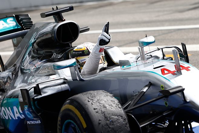 Lewis Hamilton wins the German Grand Prix