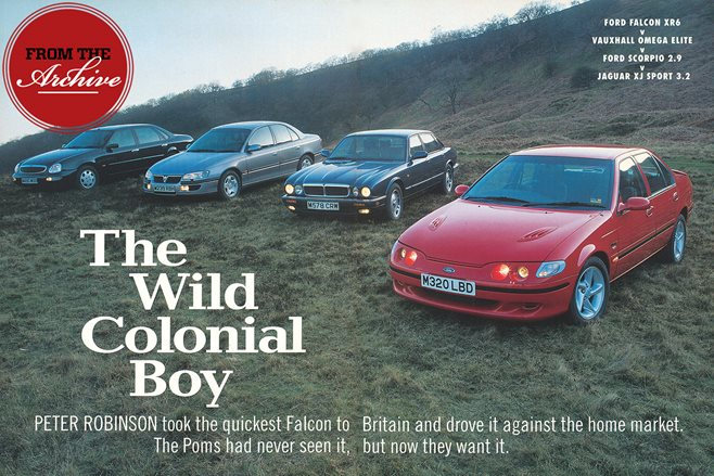 Ford Falcon XR6 vs Vauxhall Omega vs Ford Scorpio vs Jaguar XJ
