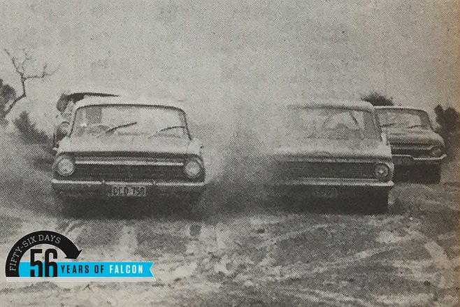 Ford Falcon vs Holden EH vs Valiant vs Austin Freeway