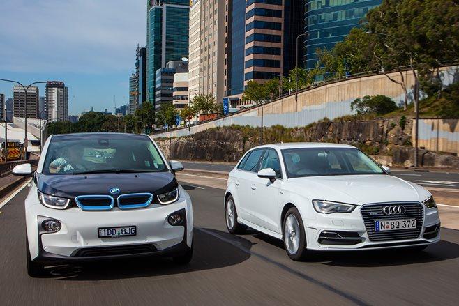 Audi A Etron Vs BMW I Comparison Review Wheels - Audi vs bmw
