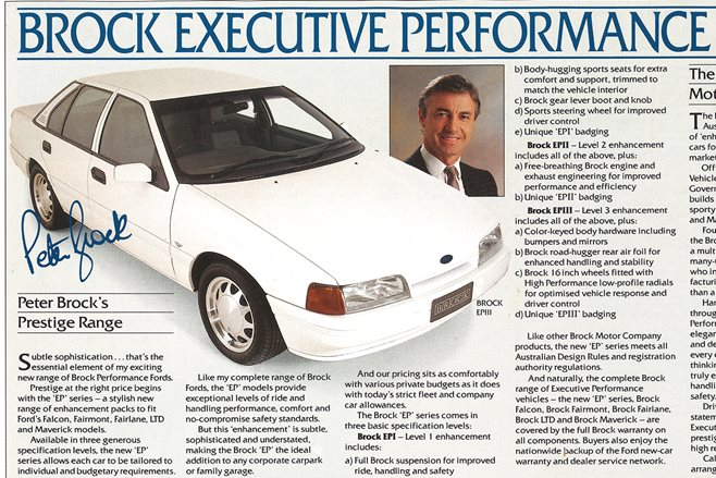 Peter Brock Ford