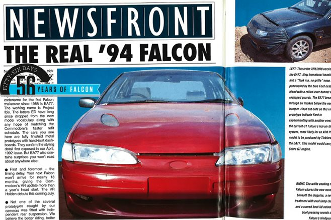 1994 Ford Falcon reveal