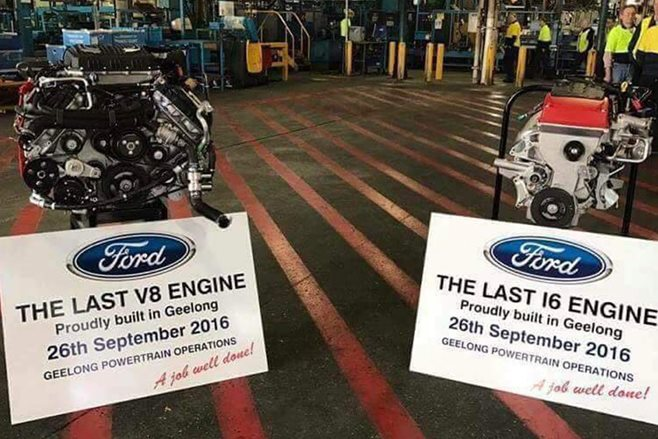 Ford Australian engine manufacturing