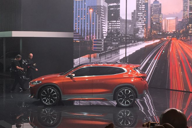 BMW X2 at Paris Motor Show