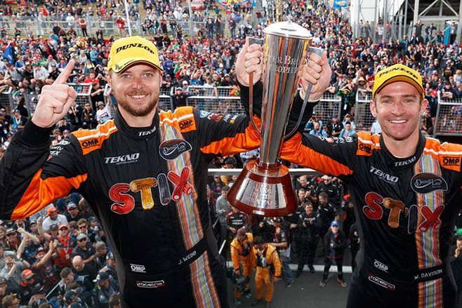 Jono Webb and Will Davison win the Bathurst 1000