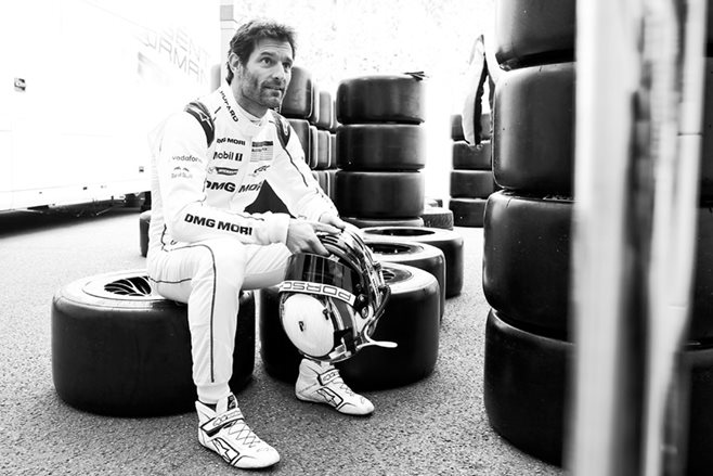 Mark Webber race car driver