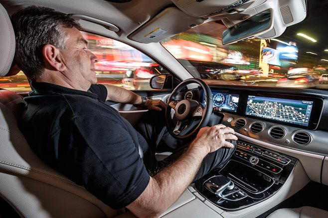 Mercedes-Benz self-driving