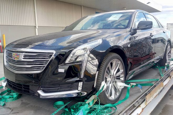 2018 cadillac ct6. contemporary 2018 a sharpeyed wheels reader has spied a pair of topsecret v6 cadillacs that  are so undercover have been slipped into australia via air in 2018 cadillac ct6