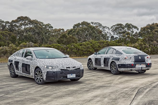 2018 Holden Commodore import
