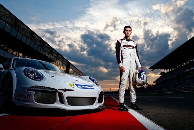 Matt Campbell - Porsche race car driver