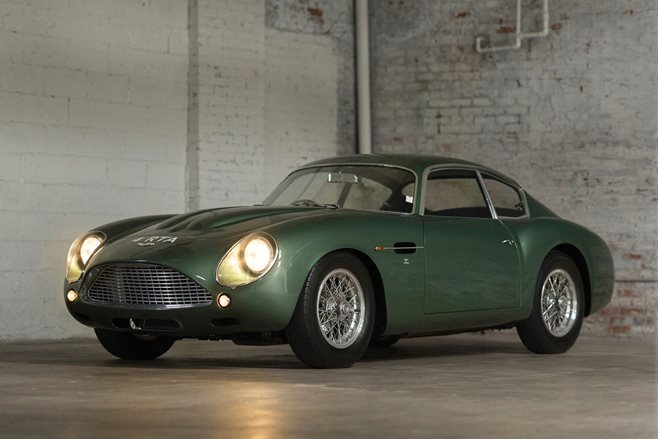 2017 Aston Martin DB4 Continuation car