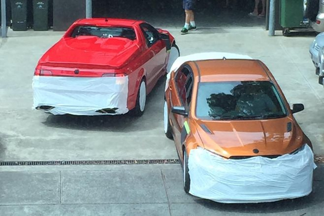 HSV's final cars caught in the wild