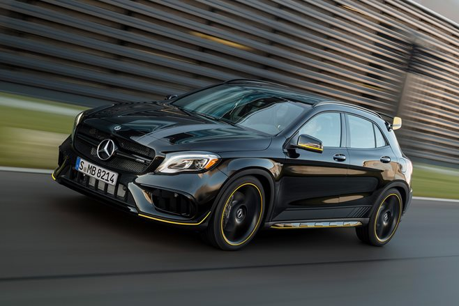 2017 Mercedes-Benz GLA 45