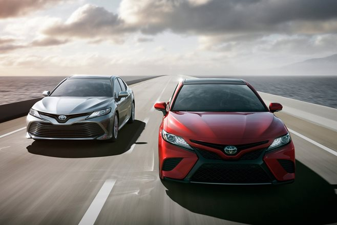 2017 detroit motor show all new 2018 toyota camry revealed wheels. Black Bedroom Furniture Sets. Home Design Ideas