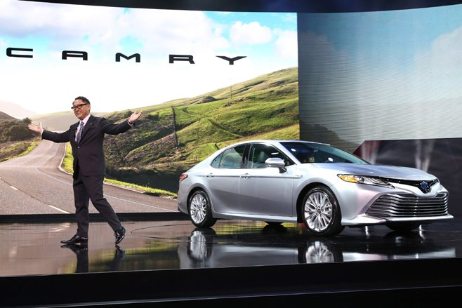 Toyota Camry at Detroit Motor Show