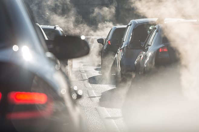 Motor vehicle pollution