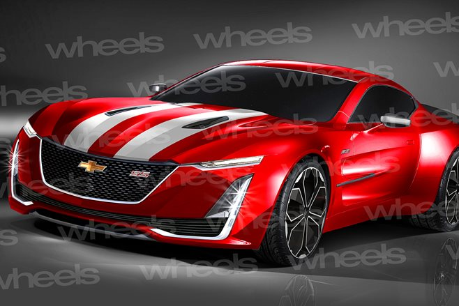 Next generation Chevrolet Camaro