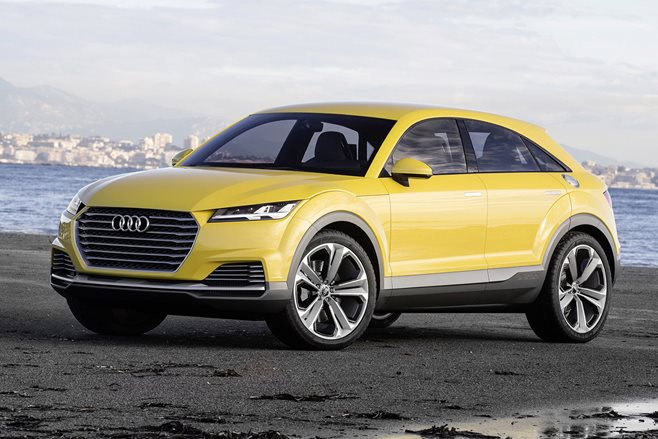 audi q4 compact suv to launch by 2019 wheels. Black Bedroom Furniture Sets. Home Design Ideas