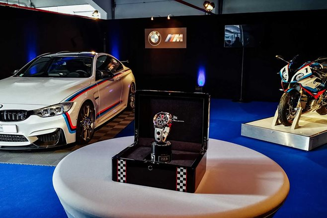 bmw m4 magny cours comes with a free bike and watch wheels. Black Bedroom Furniture Sets. Home Design Ideas