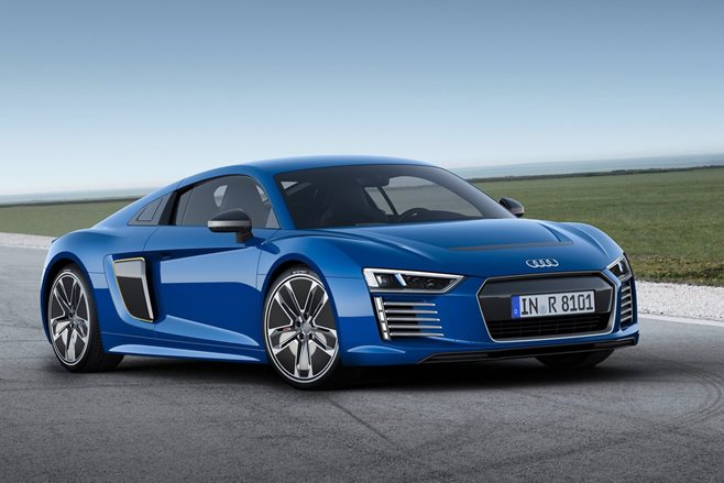 2015 audi r8 etron front side static