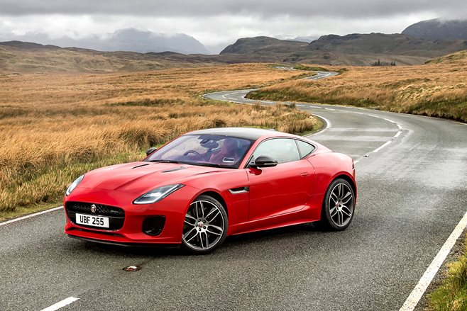 New York Motor Show Jaguar FType Fourcylinder Unleashed With - 4 cylinder jaguar
