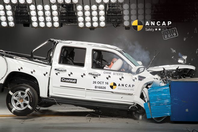 2017 Great Wall Steed ANCAP crash test