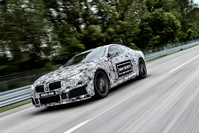 2018 bmw m8 prototype