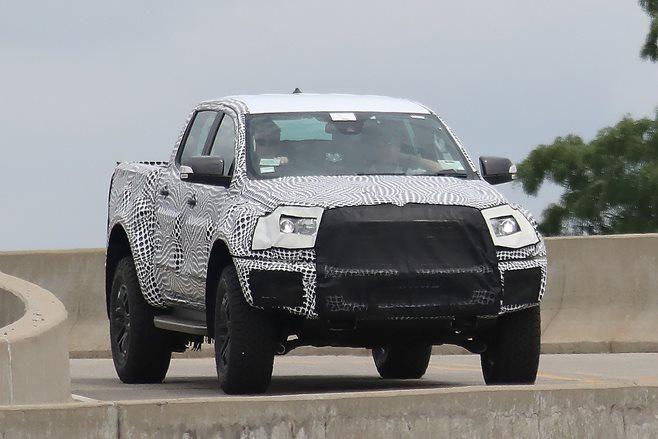 2018 Ford Ranger Raptor spied in the wild | Wheels