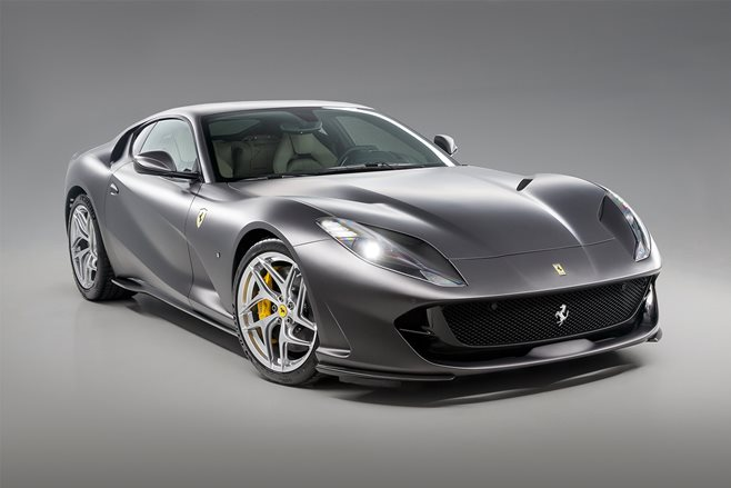 ferrari 812 superfast price white. ferrari 812 superfast sold out for five years price white