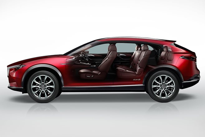 8 Seater Suv >> Japanese market Mazda CX-8 possibly headed for Australia ...