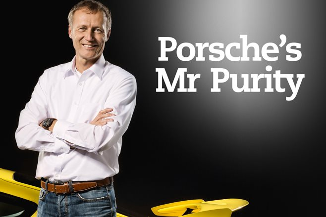 Meet the man safeguarding Porsche's iconic GT division