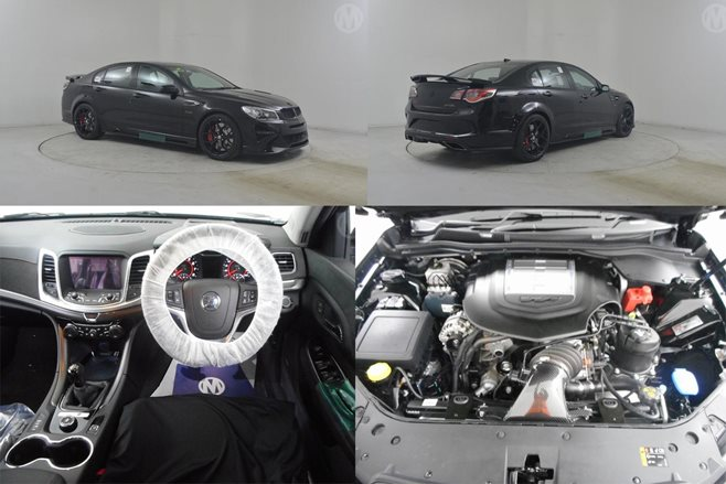 Pre-owned HSV GTSR W1 up for auction