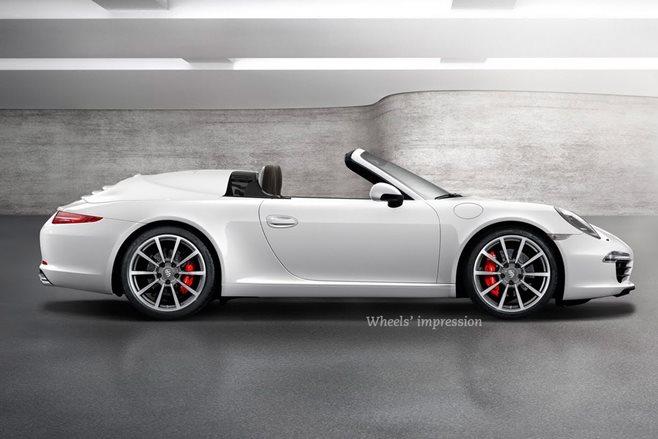 2018 porsche 911 speedster expected at frankfurt wheels. Black Bedroom Furniture Sets. Home Design Ideas