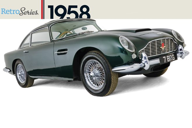 Retro 1958 Aston Martin DB4